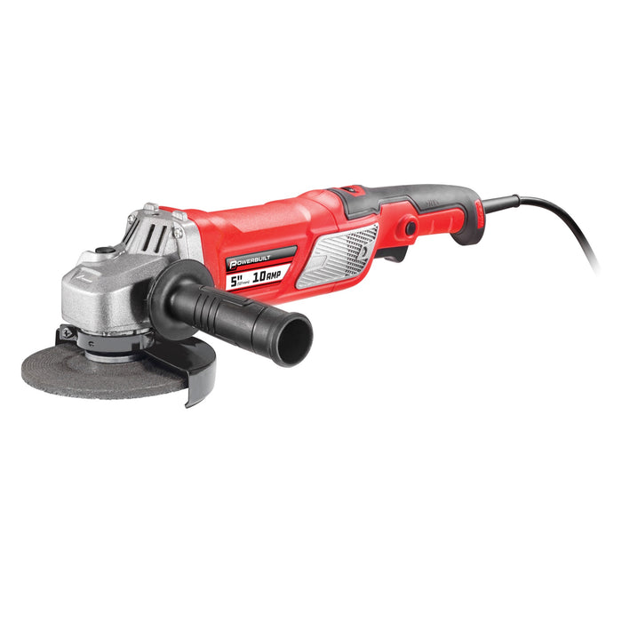 5 in. 10A Variable Speed Angle Grinder with Electronic Speed Control
