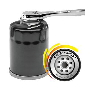 3 Jaw Auto-Adjusting Magnetic Oil Filter Wrench