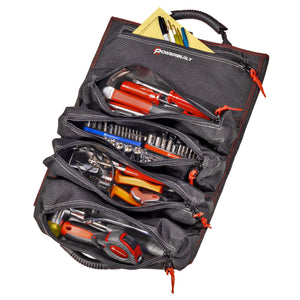 5 Pocket Tool Roll Organizer