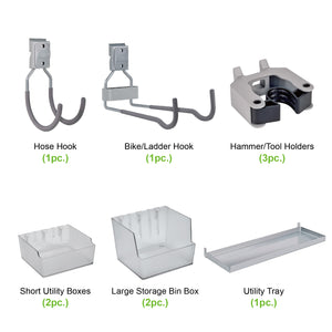 63 Piece Wall Mount Starter Kit