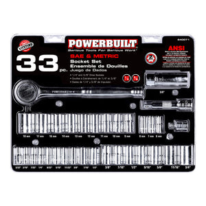33 Piece Socket Set