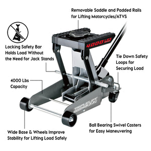 2 Ton Triple Lift Floor Jack