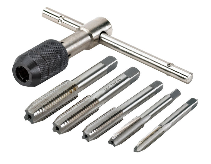Powerbuilt 6 Piece SAE Tap Wrench Set - 640587M