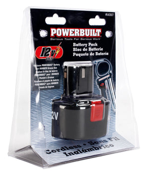Powerbuilt 12V Replacement Battery For #640029 Cordless Grease Gun - 640687