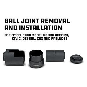 Honda Lower Ball Joint Tool Adapter Kit