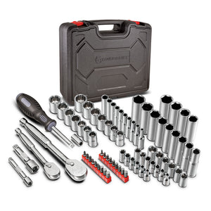 80 Piece Auto Mechanic's Service Tool Set