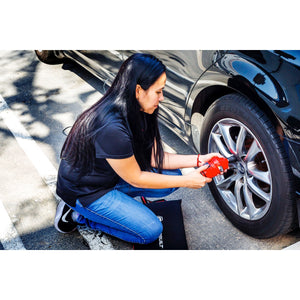 12V Electric Lug Nut Wrench for Roadside Tire Changes