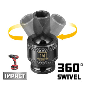 Powerbuilt  Universal Impact 6 Point Socket