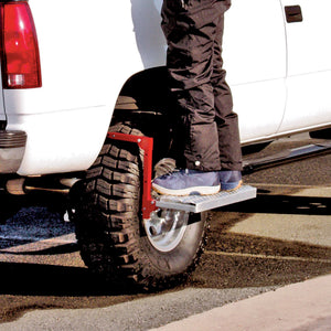 Heavy Duty Truck Tire Service Step