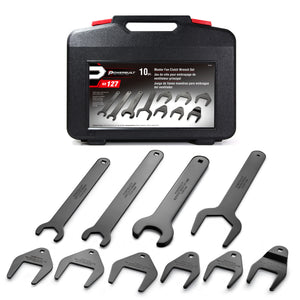 10 Piece Master Fan Clutch Wrench Kit