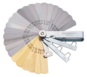 25 Blade Tune-Up Feeler Gap Gauge