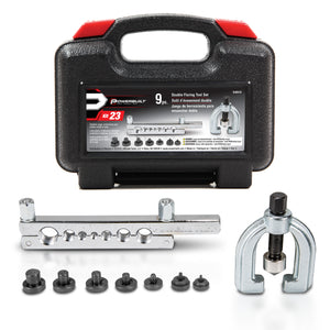9 Piece Double Flaring Tool Kit