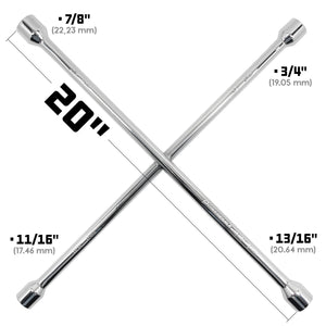 20 in. Four Way Universal Lug Wrench