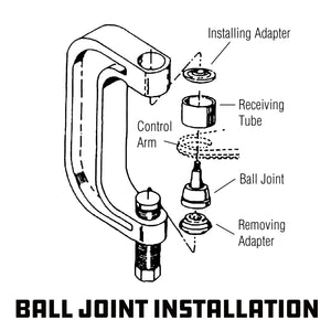 10 Piece Master Ball Joint Service Kit