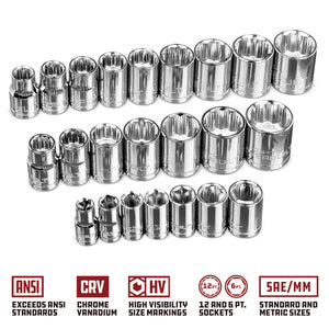 26 Piece Socket Set