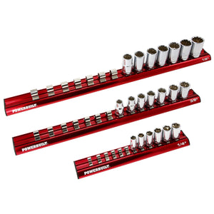 3 Piece Magnetic Socket Rail Set