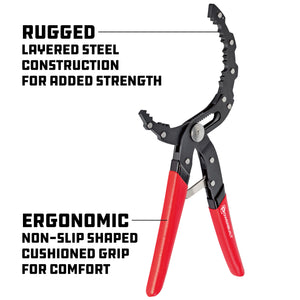 Self-Adjusting Oil Filter Pliers