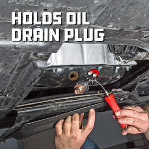 Magnetic Oil Drain Plug Remover Tool