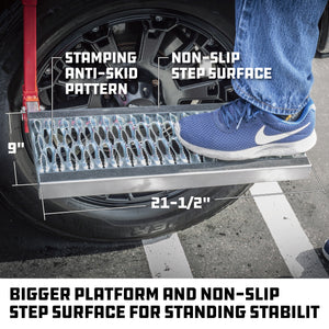 Deluxe Heavy Duty Truck Tire Service Step
