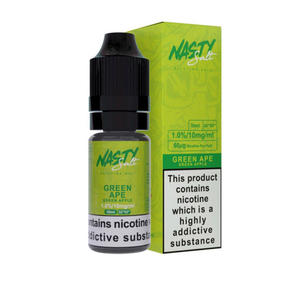 Green ape nasty salt nic UK