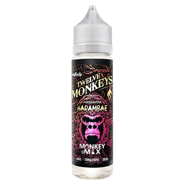 Harambae Monkey Mix 50ml By 12 Monkeys