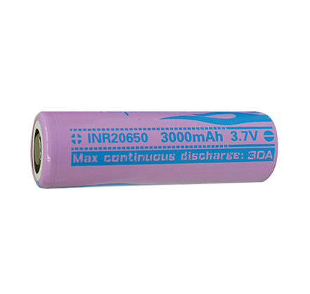 20650 3000mAh 30A By Vapcell