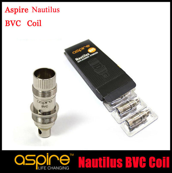 Nautilus BVC Replacement Coils By Aspire