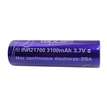 21700 INR 3100mAh 30T 35A By Vapcell/Samsung