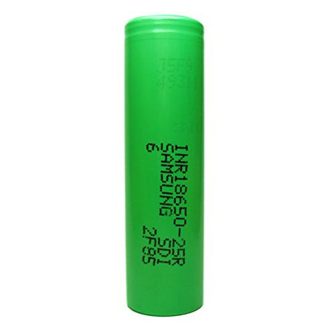 18650 INR 25R 2500mAh Battery By Samsung