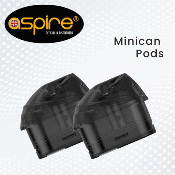 Minican replacement pods by aspire UK