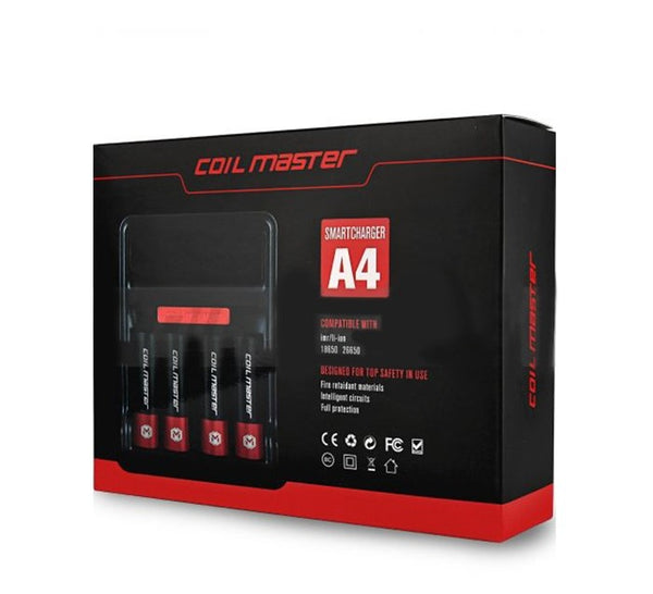 A4 Smart Charger By Coil Master