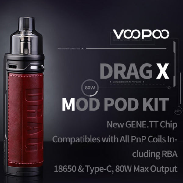 Drag X Pod System By VOOPOO