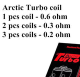 Arctic Turbo Replacement Coil By Horizon Tech