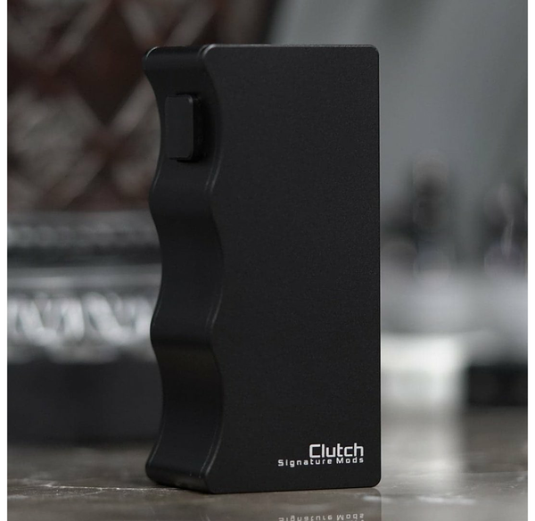 Clutch 21700 Mechanical Mod By Dovpo - Signature Tips - Mike Vapes black UK