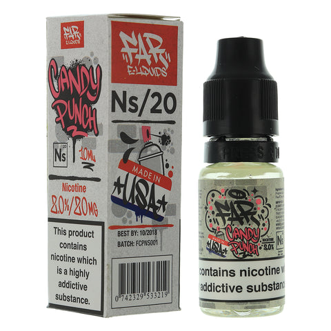NS20 Candy Punch Designer Nic Salts By Element