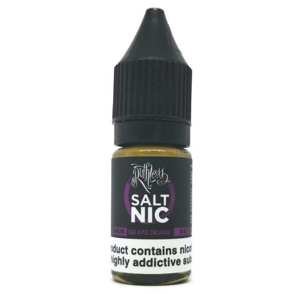 Grape Drank Salt Nic By Ruthless UK