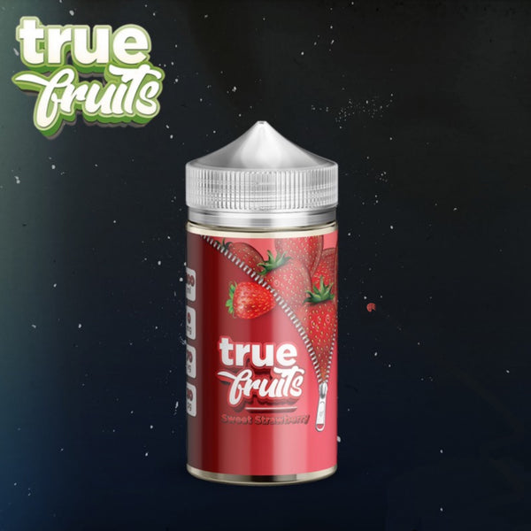 Strawberry 200ml By True Fruits short fill UK