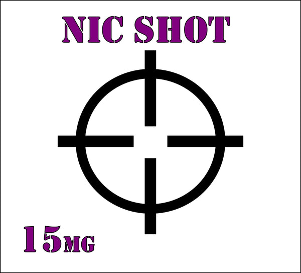 Nic Shot 15mg 10ml