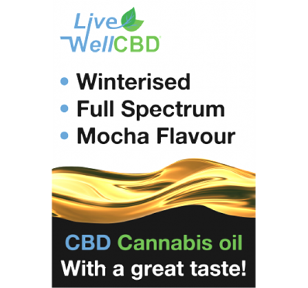 Full Spectrum WINTERISED CBD ORAL 10ml By Live Well