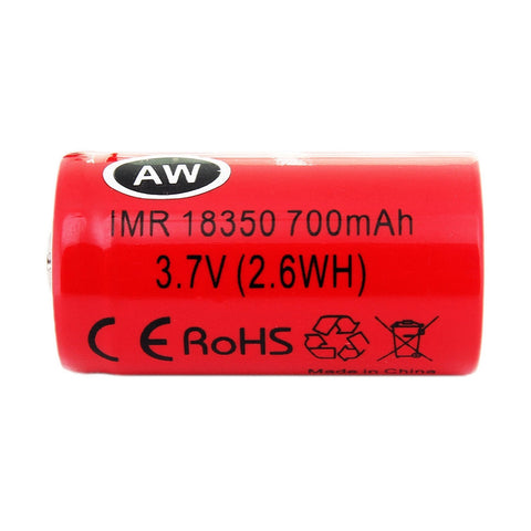 18350 IMR Battery By AW