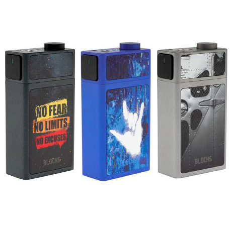Blocks Squonk Mod By Uwell