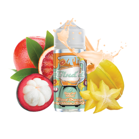 Blood Orange Mangosteen Starfruit By BLND'D 100ml UK