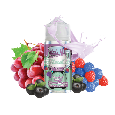 Brazberry Grape Acai By BLND'D 100ml UK