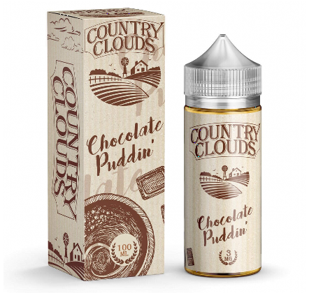 Chocolate Puddin Country Clouds 100ml UK