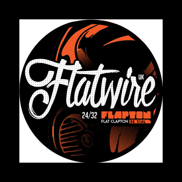 316L SS Flapton Wire 10ft By Flatwire U.K.