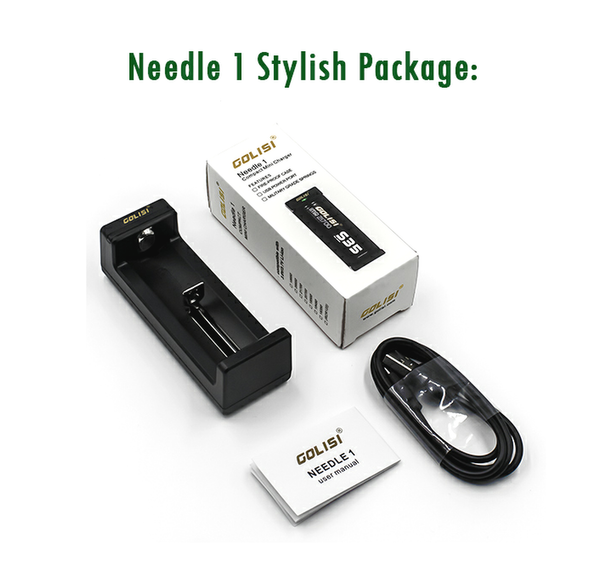 Needle 1 Charger By Golisi UK
