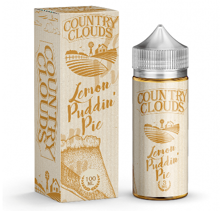 Lemon Puddin' Pie 100ml 0mg By Country Clouds