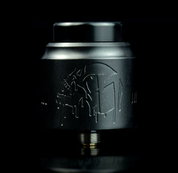Nightmare Squonk RDA By Suicide Mods matte black UK