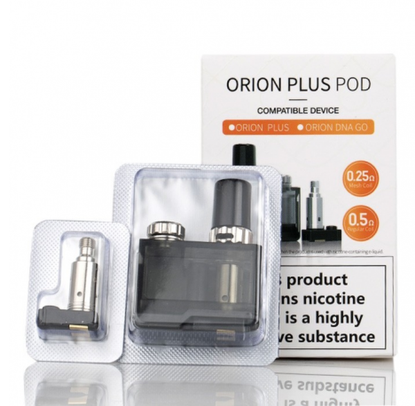 Orion Plus Replacement Pod (+2 Coils) By Lost Vape UK