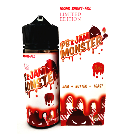 Strawberry By PB & Jam Monster 100ml UK